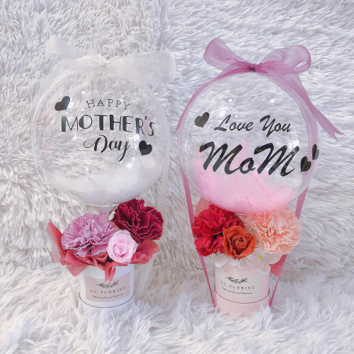 Soap Rose Hot Air Balloon (Mothers Day 2021)