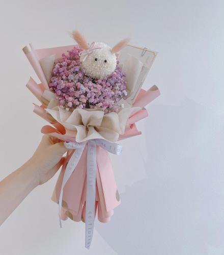 Little Bunny Bouquet (Fresh Flower)