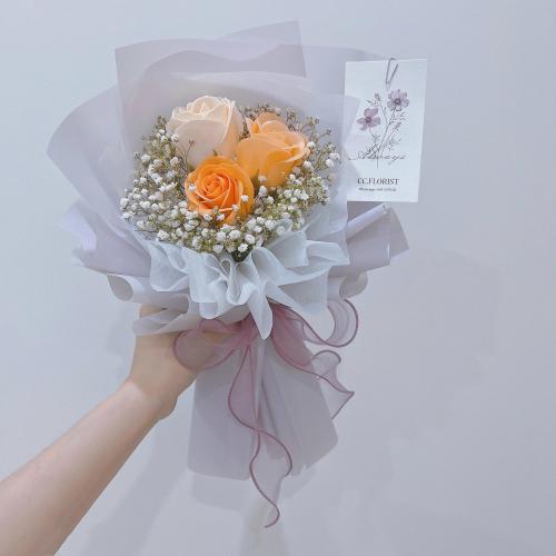 Petite Soap Roses Bouquet