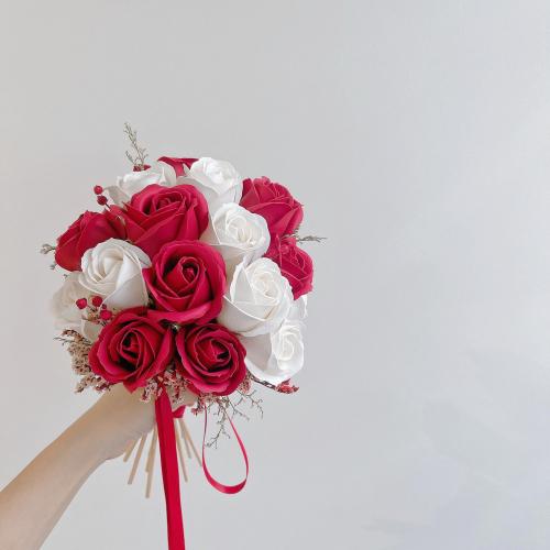Soap Roses Bridal Bouquet (Soap Rose)