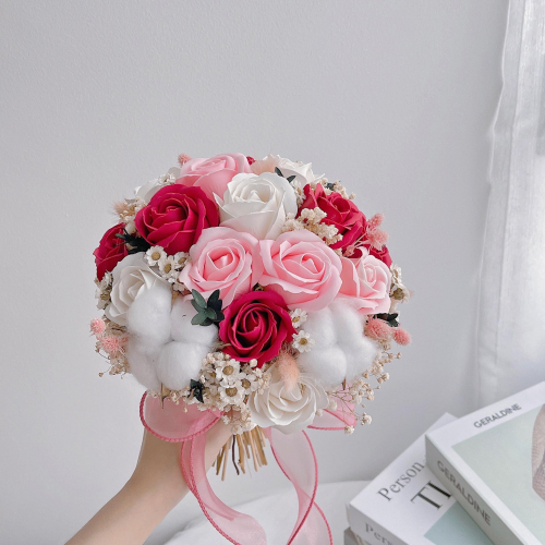 Soap Roses Bridal Bouquet / ROM Bouquet