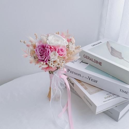 Preserved Flower Bridal Bouquet / ROM Bouquet