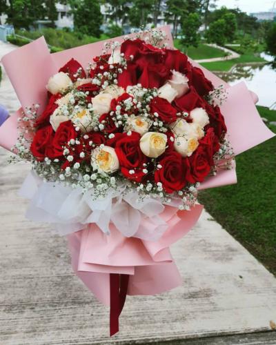 55 roses