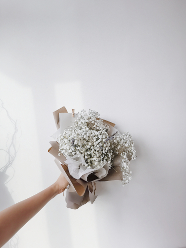 Starry Night (S size) Baby Breath Bouquet