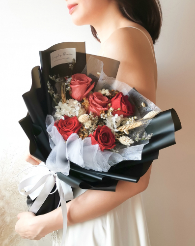 Eternal Preserved Flower Bouquet