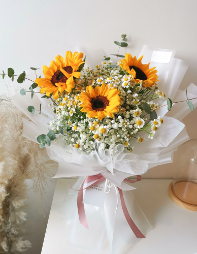 Sunflower Chamomile