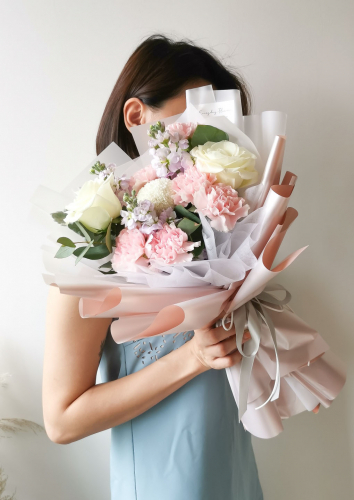 Mother's Day Grace Carnation Bouquet