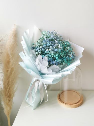 Ocean Blue Baby Breath