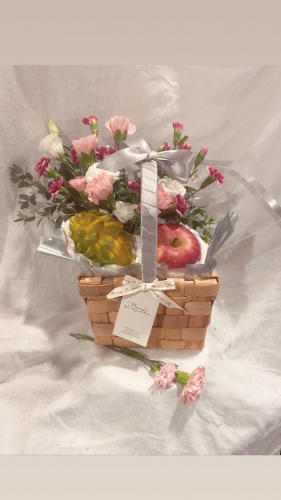 Mother's Day special- The flowers & fruits basket