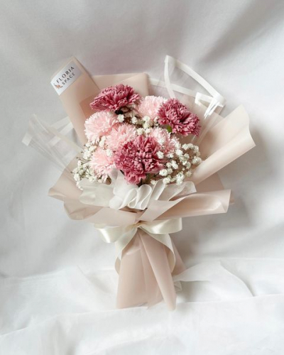 MOTHER'S DAY 2021 [M01]: Soap Carnations & Baby Breath