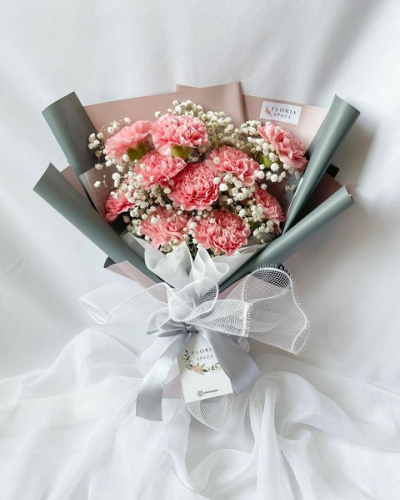 MOTHER'S DAY 2021 [M03]: Fresh Pink Carnations
