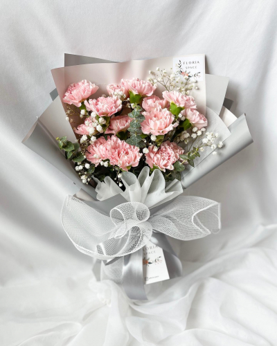 MOTHER'S DAY 2021 [M04]: Fresh Pink Carnations