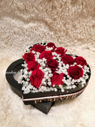 Forevermore heart-Sharpe Flower Box