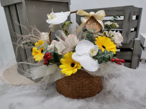 Fruits Flower Basket