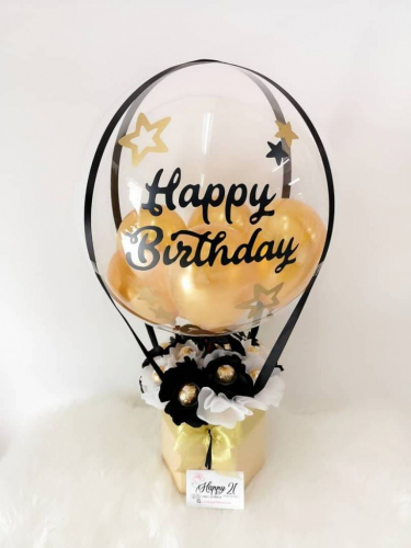 BB002 Ferrero Rocher Hot Air Balloon