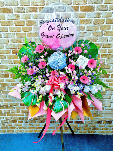Grand Opening Flower Stand