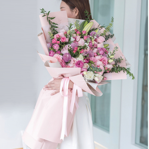 Giant Pink Pastel Bouquet