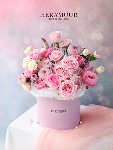 Alice's Wonderland Pink Flower Box II