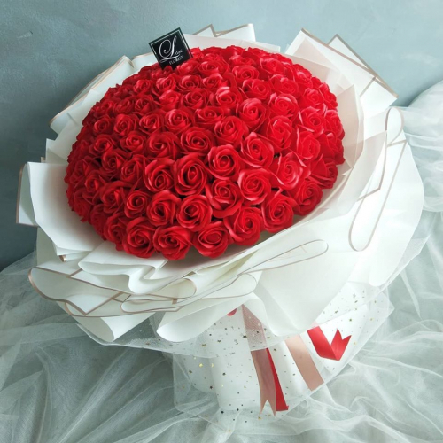 Valentine's Day 2021 / VD 04 (99 Soap Roses Bouquet)