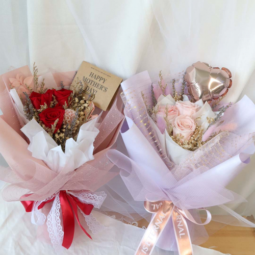 【Mother's Day Special Promo】Preserved Rose Petite Bouquet