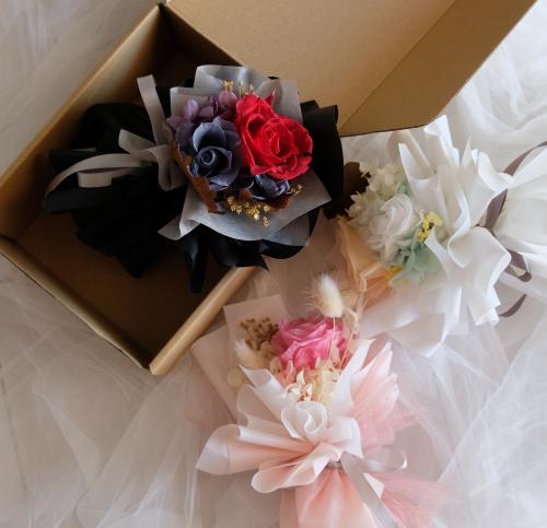 mini preserved bouquet
