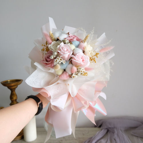Dreamy Soap Flower Bouquet