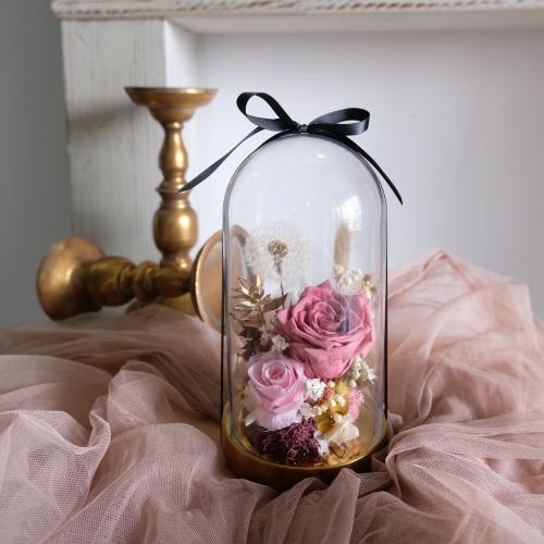Velvet Latte Preserved Bell Jar