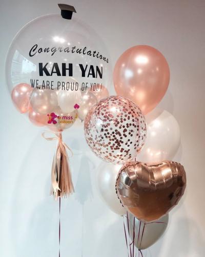 Personalize Bubble Balloon Basic Sets