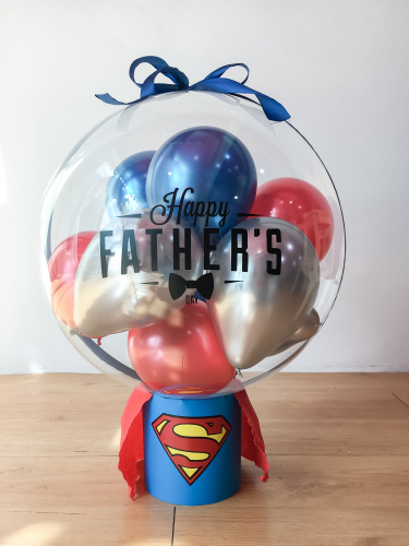 Super Dad Surprise Floating Balloon | Father's Day 2021