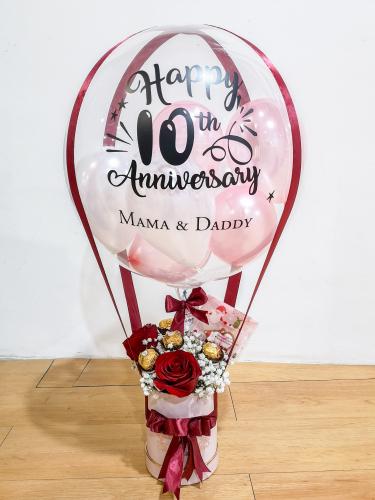 Abby Choco Rose Hotair Balloon