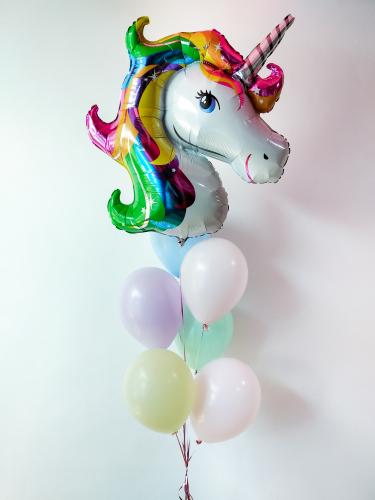 Anagram Rainbow Unicorn Helium Bunch