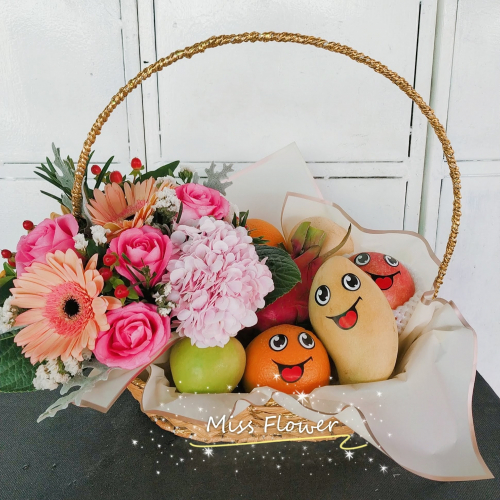 Fruit & Flower Basket 04