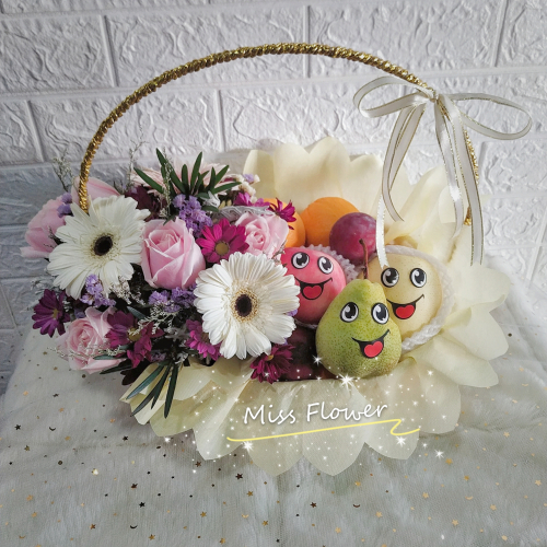Fruit & Flower Basket 07