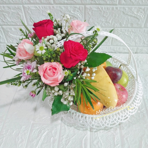 Fruit & Flower Basket 09