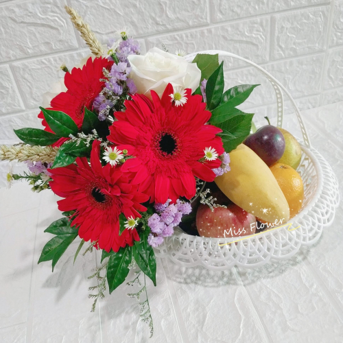 Fruit & Flower Basket 10