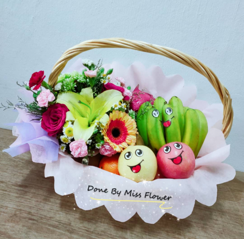 Fruit & Flower Basket 11