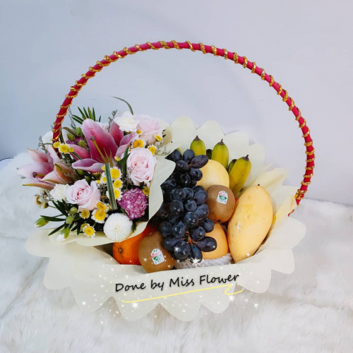 Fruit & Flower Basket 13