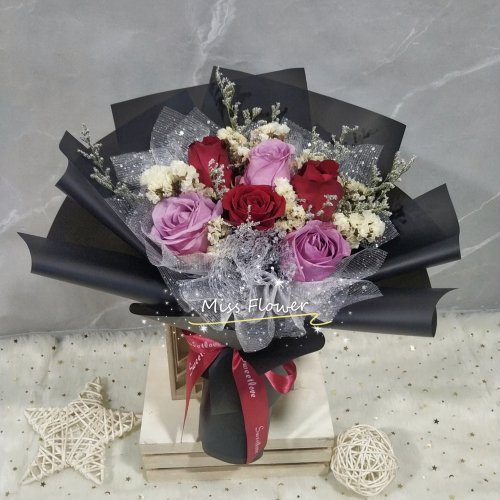 Mix Colour Roses Bouquet