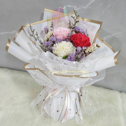 Mix Colour Soap Carnation Bouquet