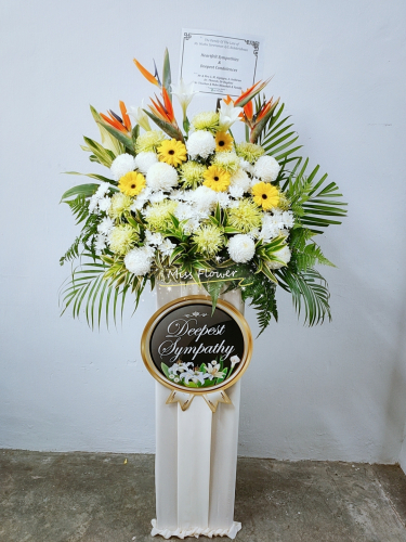 Condolence Flower 74
