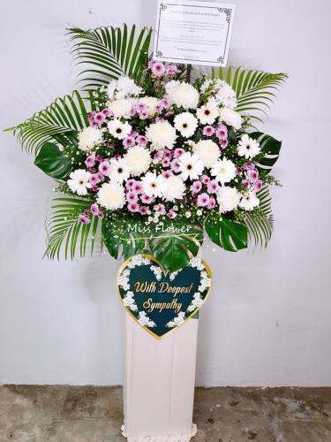 Condolence Flower 76