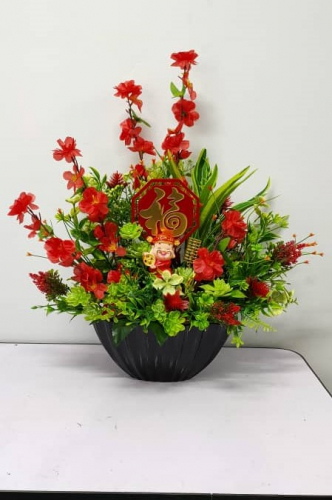 Chinese New Year Table Flower 001