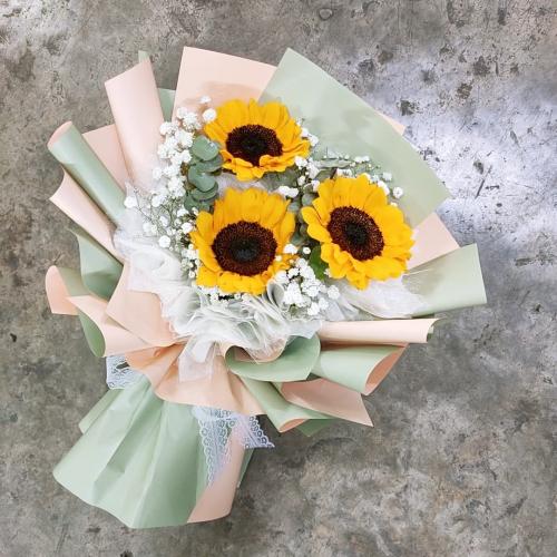 Sunflower bouquet 02