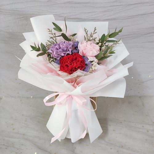 Mix Colour Soap Carnation Bouquet 01