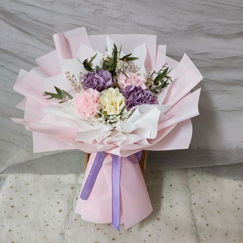 Mix Colour Soap Carnation Bouquet 02