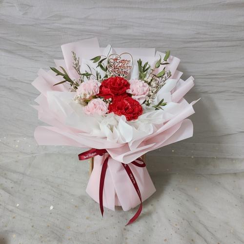 Mix Colour Soap Carnation Bouquet 03