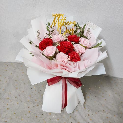 Mix Colour Soap Carnation Bouquet 04