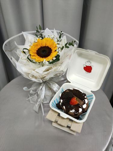 Birthday Package/ Flower+Cake Set 03