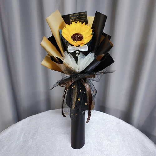 Father's Day Series Soap Sunflower Bouquet 02