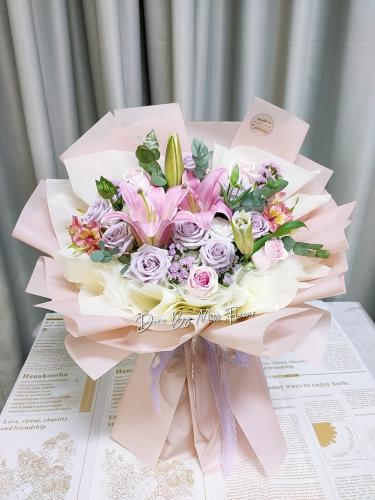 Tropical Flower Bouquet 02